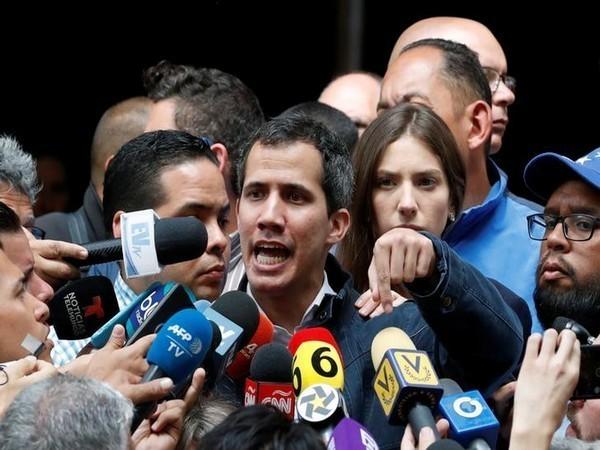 Self-proclaimed Venezuelan President Juan Guaido