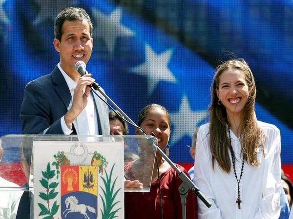 Venezuela's self-proclaimed President Juan Guaido