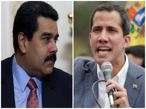 Venezuelan President Nicolas Maduro (left) and opposition leader Juan Guaido (right). (File photo)