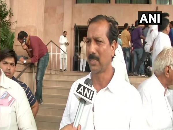 BSP MLA Rajendra Gudda speaking to ANI in Jaipur, Rajasthan.