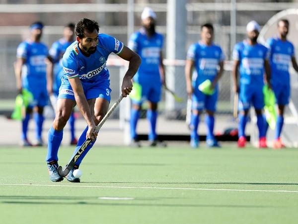 Indian men's hockey team forward Gurjant Singh (Image: Hockey India)