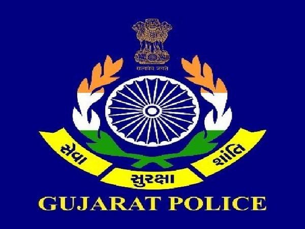 Gujarat Police logo (Image source: Twitter handle of Gujarat Police)