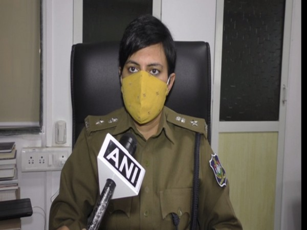 Vidhi Chaudhary, Deputy Commissioner of Police (DCP), Surat (Zone 3) (Photo/ANI)