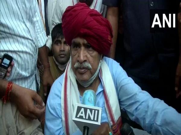 Gujjar leader Kirori Singh Bainsla (File Photo/ANI)