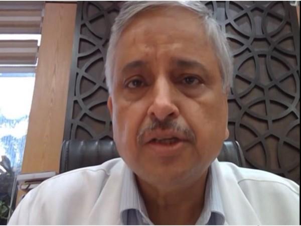 AIIMS, New Delhi Director Dr Randeep Guleria. Photo/ANI