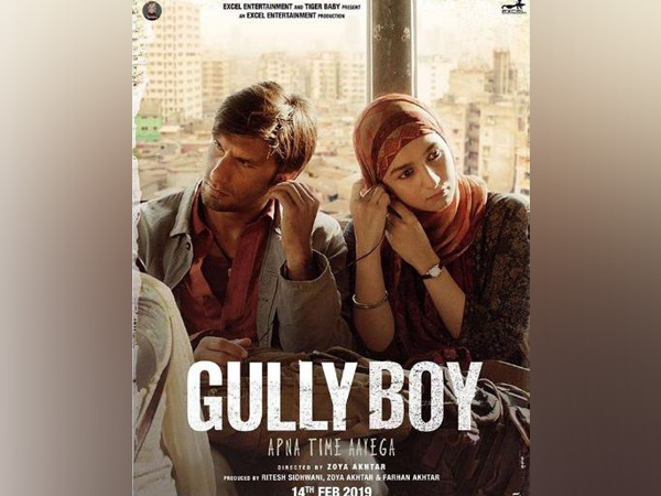 Poster of the film 'Gully Boy' (Image Source: Twitter)