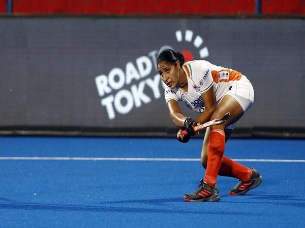 Indian women's hockey defender Gurjit Kaur (Image: Hockey India)