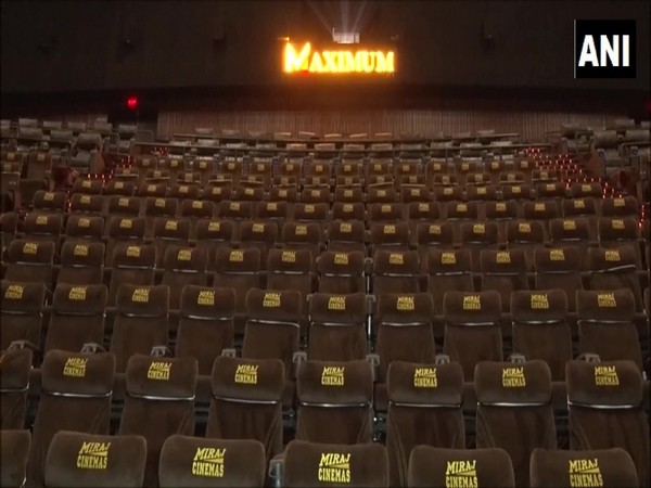Theatres will reopen in Gurugram from Thursday with half occupancy. (Photo/ANI)