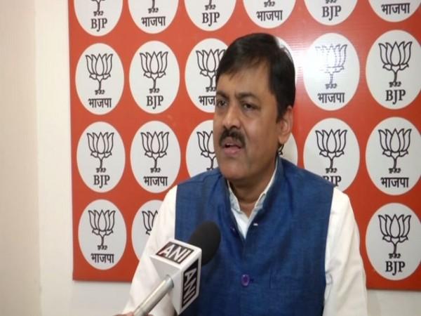 BJP spokesperson G V L Narasimha Rao talking to ANI in New Delhi on Tuesday. (Photo/ANI)