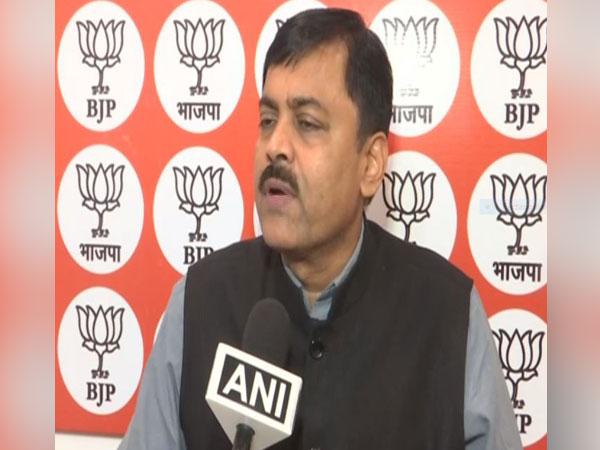 BJP leader GVL Narasimha Rao talking to ANI in New Delhi on Saturday.