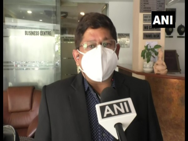 Dr Manish Sharma, CMHO Gwalior speaking to ANI on Friday. (Photo/ANI)