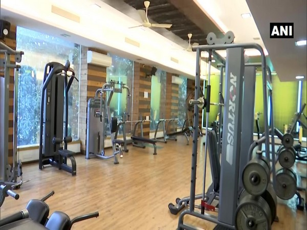 Gyms in Madhya Pradesh's Bhopal have reopened. (Photo/ANI)