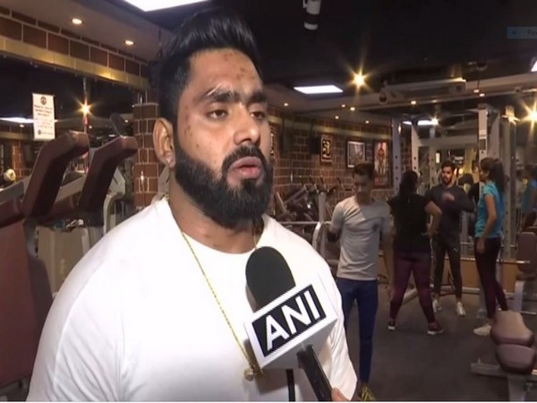 Paras , gym trainer talking to ANI in NEw Delhi on Monday