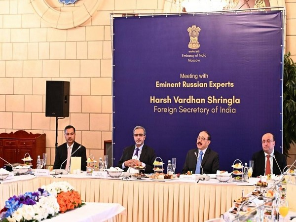Foreign Secretary Harsh Vardhan Shringla on Thursday exchanged views with leading Russian academics and strategic thinkers.