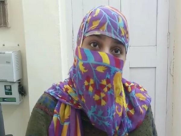 Noori Fatma speaking to ANI in Patna on Saturday. Photo/ANI