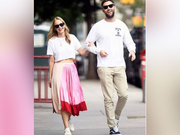 Jennifer Lawrence and Cooke Maroney (Image courtesy: Instagram)
