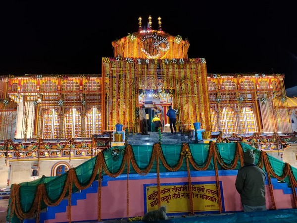 Visual of Badrinath Temple