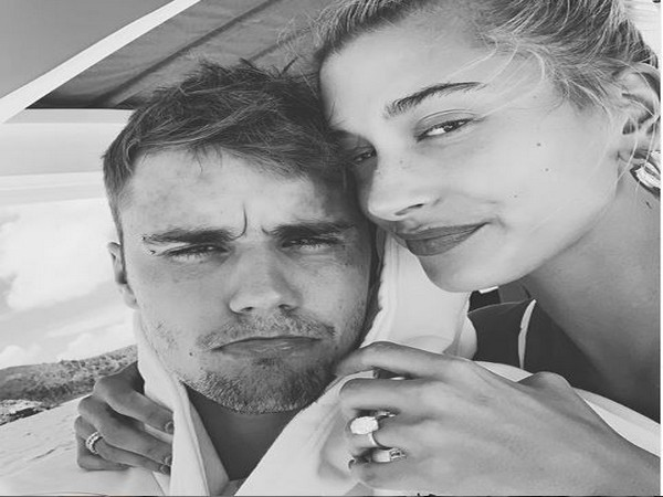 Newly married couple Justin Bieber and Hailey Baldwin (Image courtesy: Instagram)