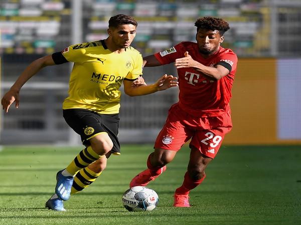 Borussia Dortmund defender Achraf Hakimi (Photo/Borussia Dortmund Twitter)