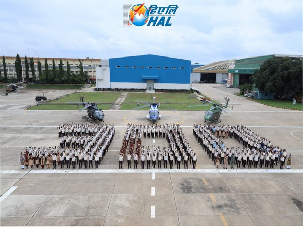 HAL celebrating 300th Advanced Light Helicopter roll out