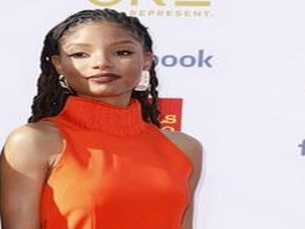 Actor Halle Bailey