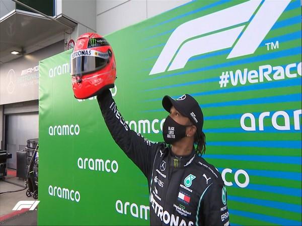 Mercedes's Lewis Hamilton (Photo/ Formula 1 Twitter)
