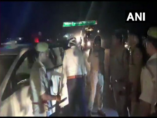 Visuals from Hamirpur where five people of a family were found murdered in a house. Photo/ANI