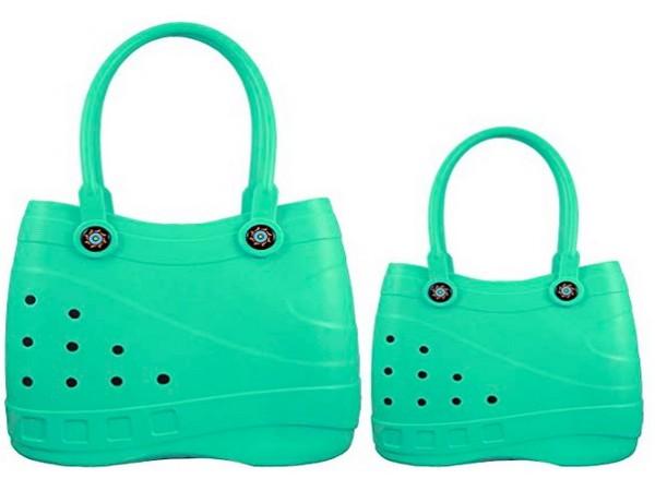 Crocs-inspired handbag (Picture credits- Cafemom.com)