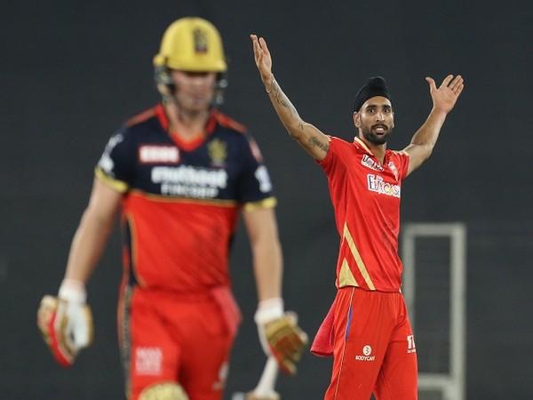 Punjab Kings all-rounder Harpreet Brar (Photo: BCCI/ IPL)