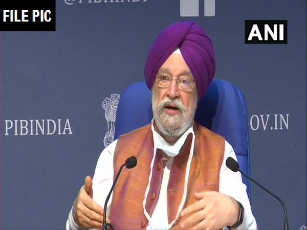 Minister of Civil Aviation (MoCA) Hardeep Singh Puri. [Photo/ANI]