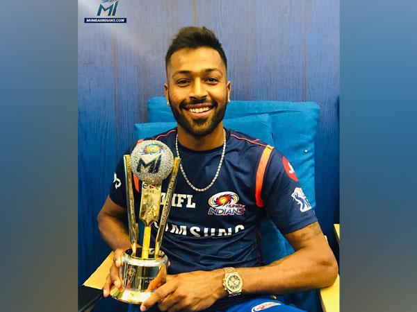 All-rounder Hardik Pandya (Photo/ Mumbai Indians twitter)