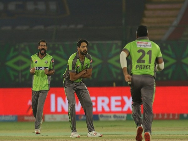 Lahore Qalandars bowler Haris Rauf (Image: Lahore Qalandars' Twitter)
