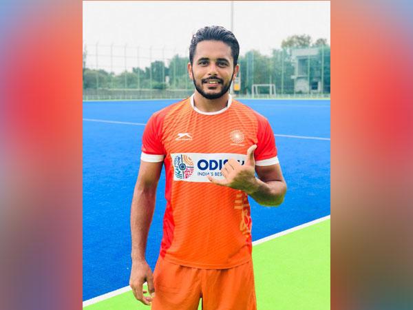Indian hockey player Harmanpreet Singh (Photo/ Harmanpreet Singh Twitter)