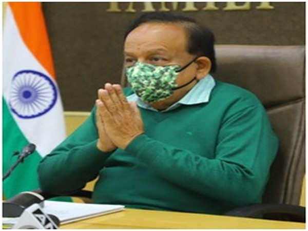Union Minister Harsh Vardhan at the event on Tuesday.