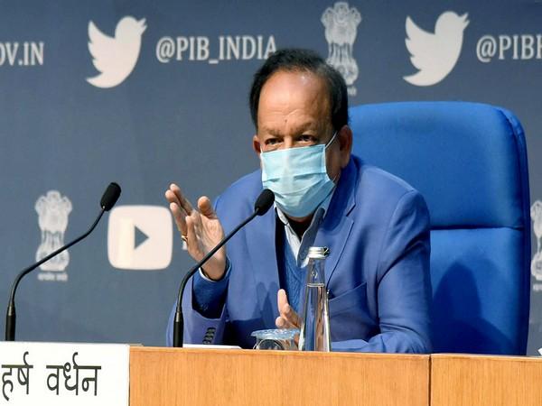 Union Health Minister Harsh Vardhan (File Pic)