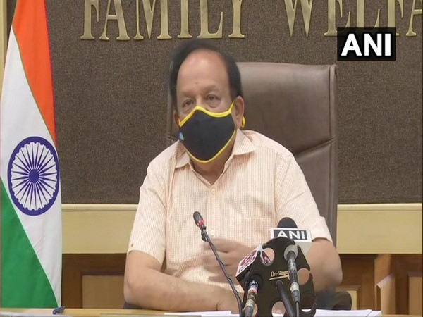 Union Health Minister Harsh Vardhan. [Photo/ANI]
