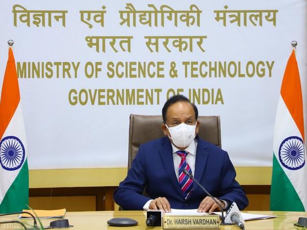 Union Health Minister Dr Harsh Vardhan (Photo Credit: Twitter/ Harsh Vardhan)