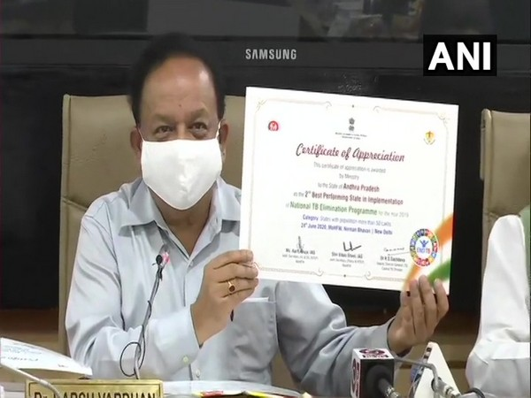 Dr Harsh Vardhan, Union Health Minister during the launch of report. (Photo/ANI)