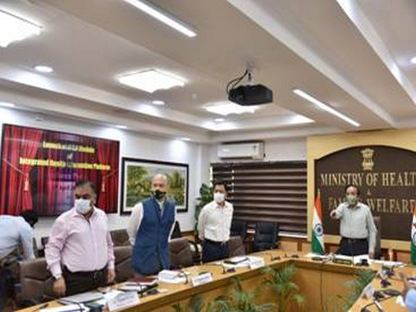 Union JHealth Minister Dr Harsh Vardhan virtually launched the Integrated Health Information Platform (IHIP) here on Monday. (Photo:PIB)