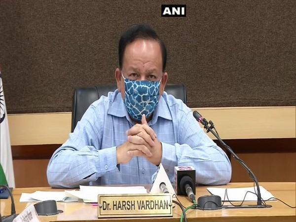 Union Health Minister Harsh Vardhan (File Photo: ANI)