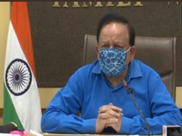 Union Health Minister Dr Harsh Vardhan  (Photo/ANI)