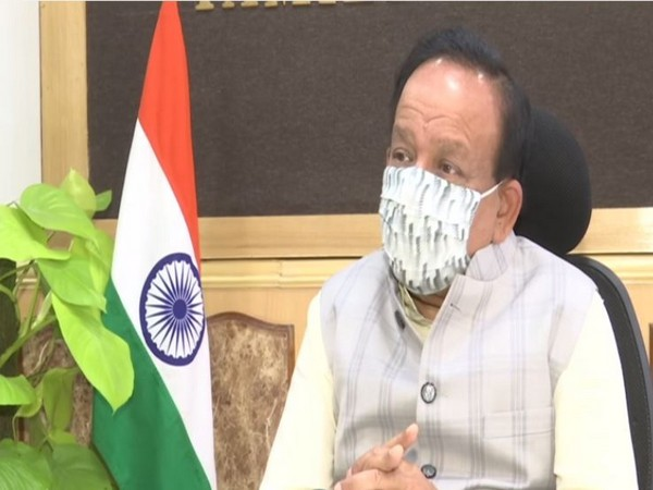 Union Health Minister Dr Harsh Vardhan speaking to ANI.