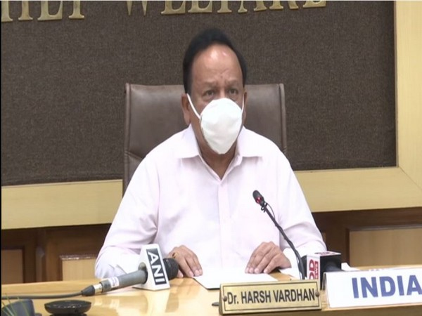 Union Health Minister Dr Harsh Vardhan during G20 Finance and Health Ministers Meeting. (Photo/ANI)