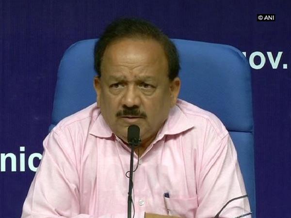 Union Health Minister Harsh Vardhan [Photo/ANI]