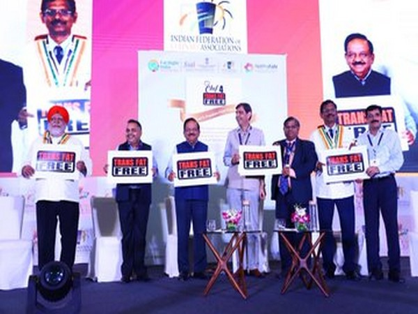 Union Health Minister Harsh Vardhan at the conference in New Delhi. Photo credit: Twitter @drharshvardhan
