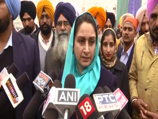 Harsimrat Kaur Badal criticises government over not resolving farmer issues