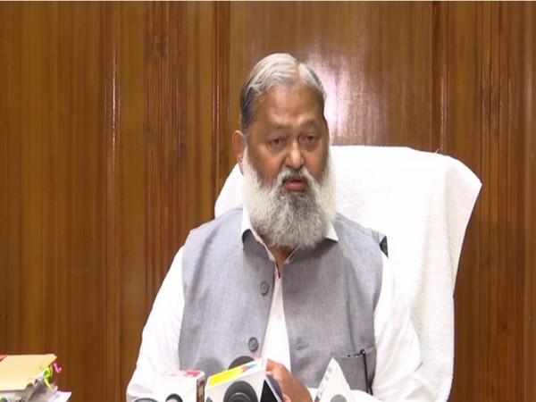 Haryana Home Minister Anil Vij (File Photo)