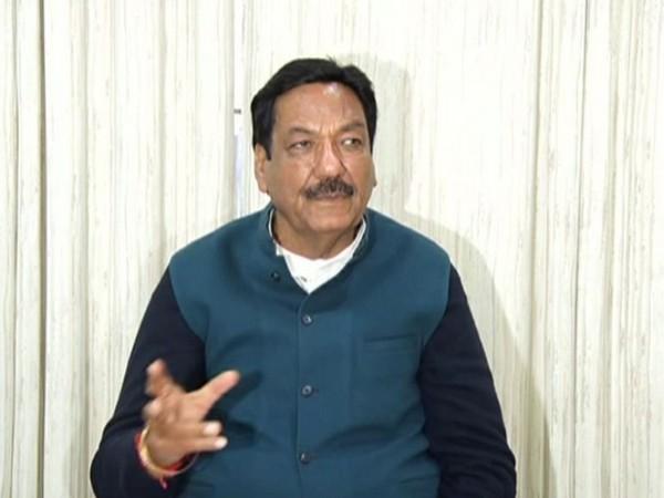 Haryana Power Minister Ranjit Chautala speaks to media in Chandigarh on Friday [Photo/ANI]