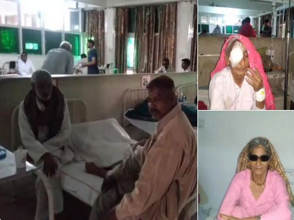 38 people admiited in hospital after complaining of immense pain after cataract surgeries in Haryana