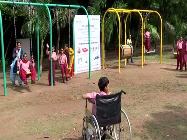 A park designed for differently-abled children has been opened in Panchkua's Town Park.